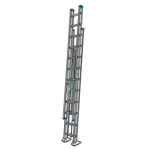 York Scaffold Extension Ladders Metro Ny L I