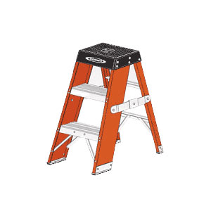 York Scaffold Specialty Ladders Extension Ladders Step